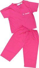 Pink Baby Scrubs @studioNotes