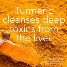 Turmeric cleanses deep toxins from the liver🌟 _ Learn more about the healing powers of turmeric in my new book Liver Rescue, link in bio👆🏻 Detox Your Liver, Liver Cleanse, Cleanse Diet, Cleanse Recipes, Digestive Detox, Detox Diet Plan, Healthy Liver, Healthy Foods, Healthy Tips