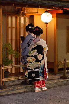 Darari obi of okiya Yoshifumi (Miyagawacho)