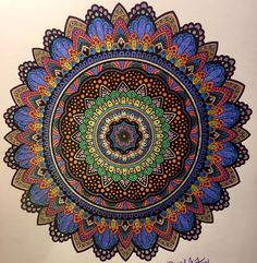 ColorIt Mandalas Volume 2 Colorist: Nicole J. Williams #adultcoloring #coloringforadults #mandalas #mandalastocolor
