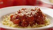 MADE! It was a hit! Stephanie's Freezer Spaghetti Sauce - makes a lot. I added 1 lb ground italian sausage.