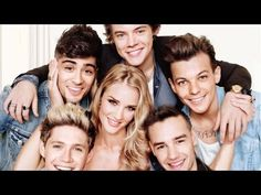 Rosie Huntington-Whiteley with One Direction Cover Makeup Look - using drugstore makeup by Lisa Eldridge