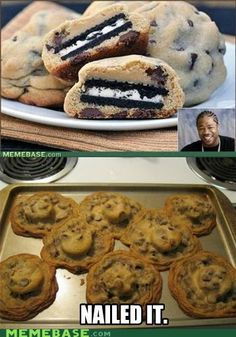 NAILED IT. -this is how I feel every time I make a Pinterest recipe... -___-