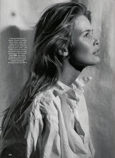 Claudia Schiffer by Steven Meisel, Vogue  US April 1993 -repinned by Southern California photography studio http://LinneaLenkus.com  #portraitphotographyinspiration