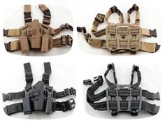 Tactical thigh leg #holster pistol #adjustable #puttee gun pouch drop bag glock 1,  View more on the LINK: http://www.zeppy.io/product/gb/2/181816185645/