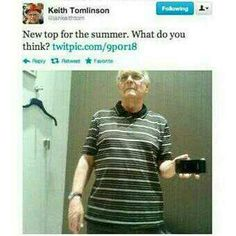 Keith Tomlinson is my favorite