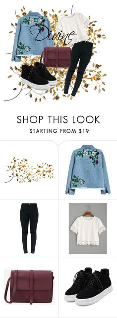 """""""Divine"""" by mllexelisa ❤ liked on Polyvore featuring H&M and WithChic"""