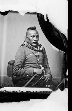 As-sau-taw-ka or White Horse - Pawnee, 1868