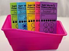 How I Track Sight Words and Fluency