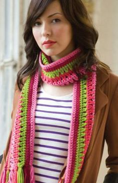 Best Free Crochet » Free Taffy Pull Crochet Pattern from RedHeart.com #243