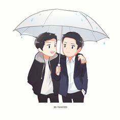 Ep.15 The first time they met. Bgm:Everytime _ .  #descendantsofthesun  #태양의후예 #송중기 #宋仲基  #jingoo #晋久 #songjoongki #太阳的后裔 #fanart #太陽的後裔