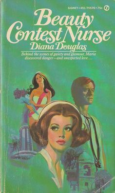 vintage nurse romance novels - Google Search