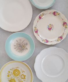 Vintage Plate Wall Combinations
