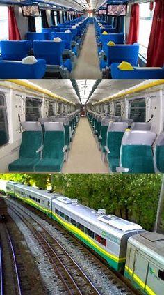 Pregopontocom @ Tudo: Novo trem de passageiros da Vale (EFVM) circula 30...  Trens de passageiros  Com painel digital anunciando o destino final e cada parada do veículo, o trem realiza duas viagens diárias. Uma parte de Vitória rumo a Belo Horizonte, em Minas Gerais, e a outra faz o trajeto inverso. Para realizar o percurso completo de 664 quilômetros, o passageiro continua a pagar o mesmo valor cobrado atualmente, que é de R$ 91 para a classe executiva e de R$ 58 para a econômica.