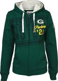 Green Bay Packers Women's Strong Side Zip Hoodie by G-III Sports. $59.99. Even…