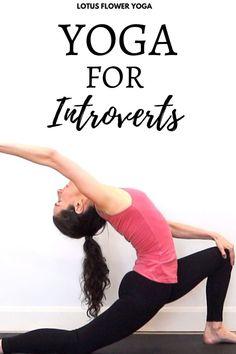 Yoga for introverts 10 Minute Morning Yoga, 30 Minute Yoga, Home Yoga Room, Yoga Studio Home, Art Of Living Yoga, Face Yoga Method, Face Yoga Exercises, Beginner Yoga Workout, Double Chin
