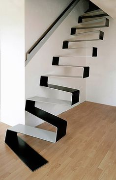Ribbon Stairs. Designed by HŠH Architects