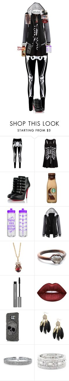 """""""Daniella Swan; Day 4 in Forks - Job application at the library"""" by yellowandpinkbunny ❤ liked on Polyvore featuring Boohoo, Christian Louboutin, Child Of Wild, Lime Crime, Samsung, Bling Jewelry and Sole Society"""