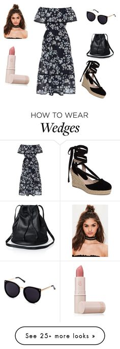 """Untitled #356"" by abantescu23 on Polyvore featuring Athena Procopiou, Topshop, Missguided and Lipstick Queen"