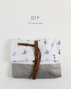 DIY canvas bag   The Fifth Watches // Minimal meets classic design: www.thefifthwatches.com