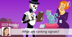 When you want your site to rank, you need to know about ranking signals. Read this post to learn about the most important ranking factors!