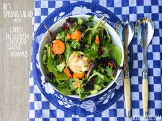 Be's spring salad. It all about the veggies!  Visit my website for recipes and more! www.becookstoo.com
