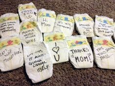 Baby Shower Activity :: Late Night Diapers | Sweet Pea Paperie