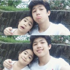 Most cute siblings and Niana💝 Ranz Kyle, Siblings Goals, O Canada, Brother Sister, Philippines, Idol, Sisters, My Favorite Things, My Love