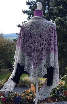 Ravelry: Romi's Mystery Shawl 2016 pattern by Rosemary (Romi) Hill