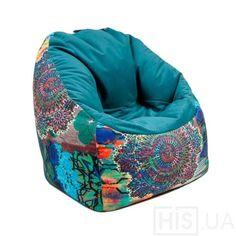 Кресло Smile - фото 2   Синий