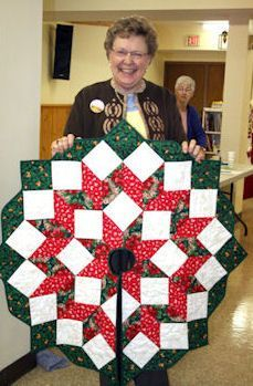 christmas tree skirt quilt pattern - Google Search