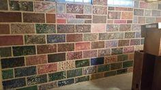 Kitchen wall at shop