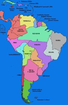 South America Google Maps ~ CINEMERGENTE