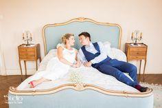 Photo de couple mariage champêtre liberty ©Studio Happy to See Photographe Mariage Toulouse