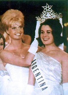 Miss Universe 1961 Norman Nolan, Argentina