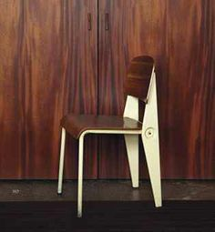 Demountable chair, Manufactured by Les Ateliers Jean Prouvé, France, 1951