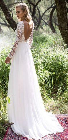 19 Favourite Fall Long Sleeve Wedding Dresses Ideas