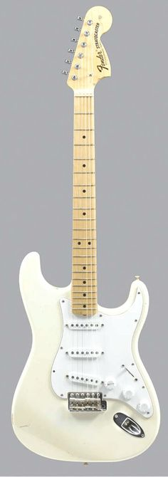 jimi hendrix fender stratocaster, for exemple ; Stratocaster Guitar, Fender Guitars, Guitar Shop, Cool Guitar, Squire Guitars, Jazz, Famous Guitars, Instruments, Guitar Photos