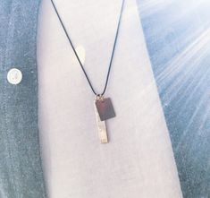 Collect your special memories around your neck 💙. Not only women also for men! 👫 WWW.MINITIALS.COM