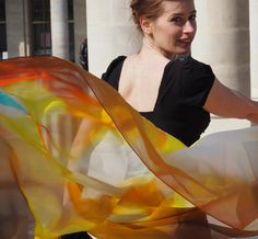 Our Luxury Silk Art Scarf By Phillip Ayers Silk Modal Silk Chiffon Silk Twill Scarves Original Abstract Artwork Shot in Paris High Fashion Accessories Our Silk Scarves are light and soft Silk Art, Silk Scarves, Silk Chiffon, High Fashion, Fashion Accessories, Paris, Abstract, Luxury, Artwork