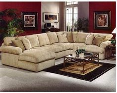 sectional couch   love this looks so comfy!
