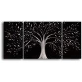 Found it at Wayfair - Moonlit Gothic Tree 3 Piece Framed Original Painting Set