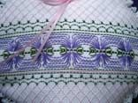 Swedish weaving. Oeil de perdrix sur tissage motif 4.