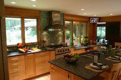 Transitional Kitchen Remodel Bedford NH
