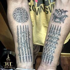 Kali Tattoo, Yantra Tattoo, Khmer Tattoo, Sak Yant Tattoo, Marquesan Tattoos, Irezumi Tattoos, Bangkok, Temple Tattoo, New Zealand Tattoo