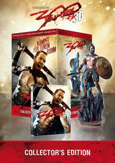Coffret 300: Rise of an Empire Ultimate Collectors Edition figurine Themistocles