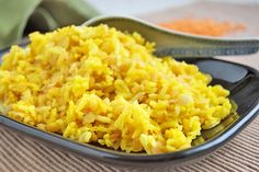 Unternehmen Sie einen kulinarischen Ausflug in den Süden #Indiens mit dem gebratener Reis mit #Linsen #Rezept.