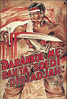 Poster Perjuangan East Indies, History, Safety, Movies, Movie Posters, Illustrations, Art, Security Guard, Art Background