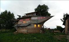 Recycling Brought To A New Level: Old Ships Turned Into Stunning Homes