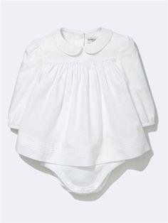 Cyrillus // infant bodysuit with peter pan collar